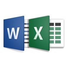 """курс повышения квалификации """"Информационные технологии в профессиональной деятельности. Применение персонального компьютера в медицине. Программа MS Word. Программа MS Excel"""""""