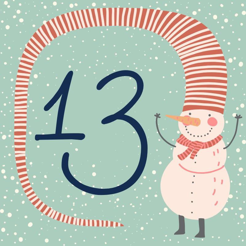 13 декабря - откройте сюрприз дня!