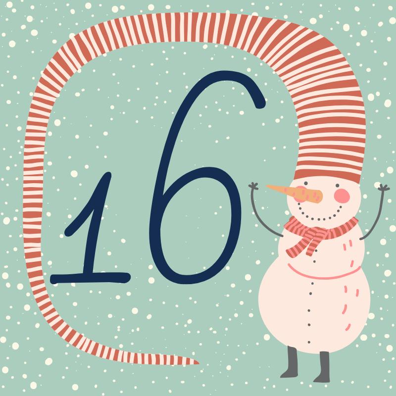 16 декабря - откройте сюрприз дня!