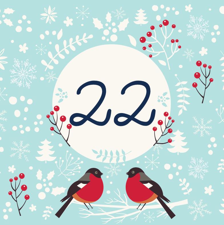 22 декабря - откройте сюрприз дня!