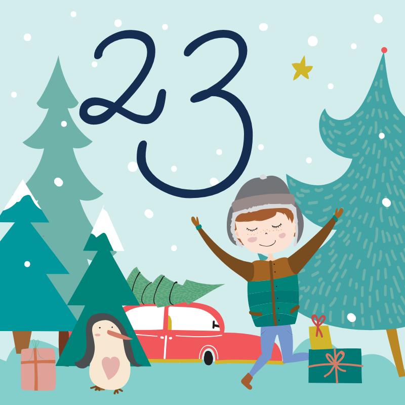 23 декабря - откройте сюрприз дня!