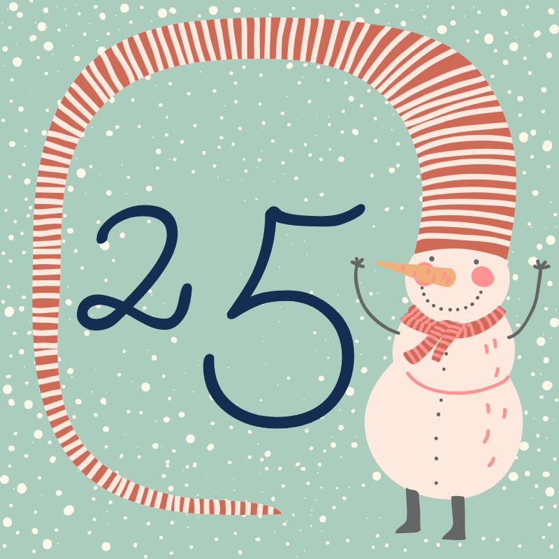 25 декабря - откройте сюрприз дня!
