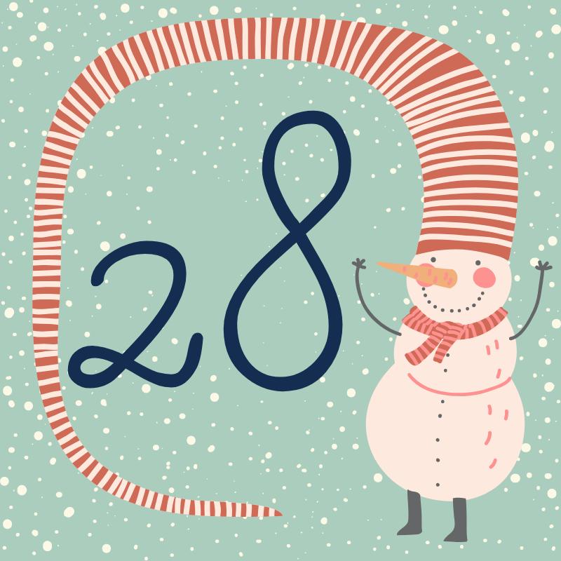 28 декабря - откройте сюрприз дня!